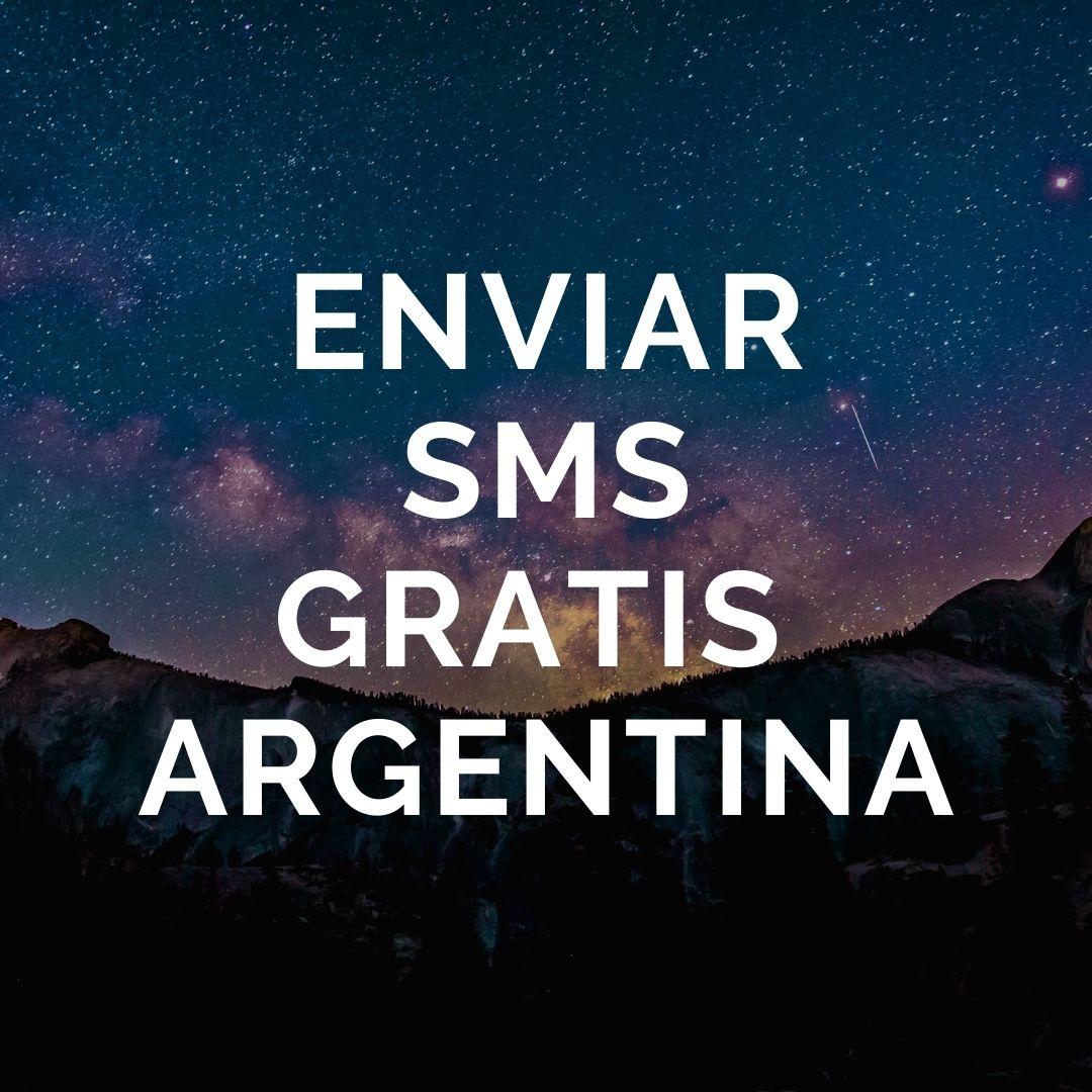 Enviar SMS gratis Argentina
