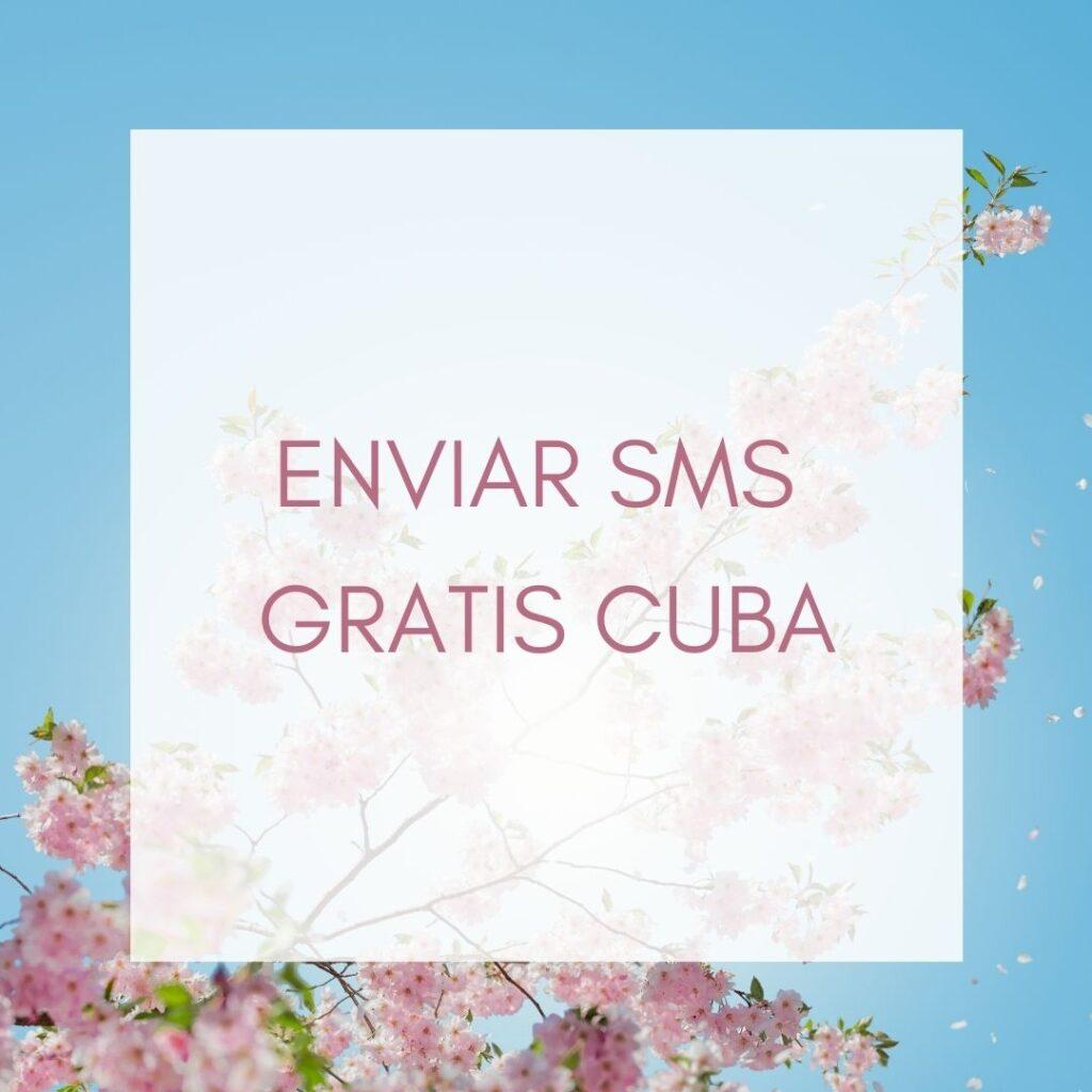 Enviar SMS gratis Cuba