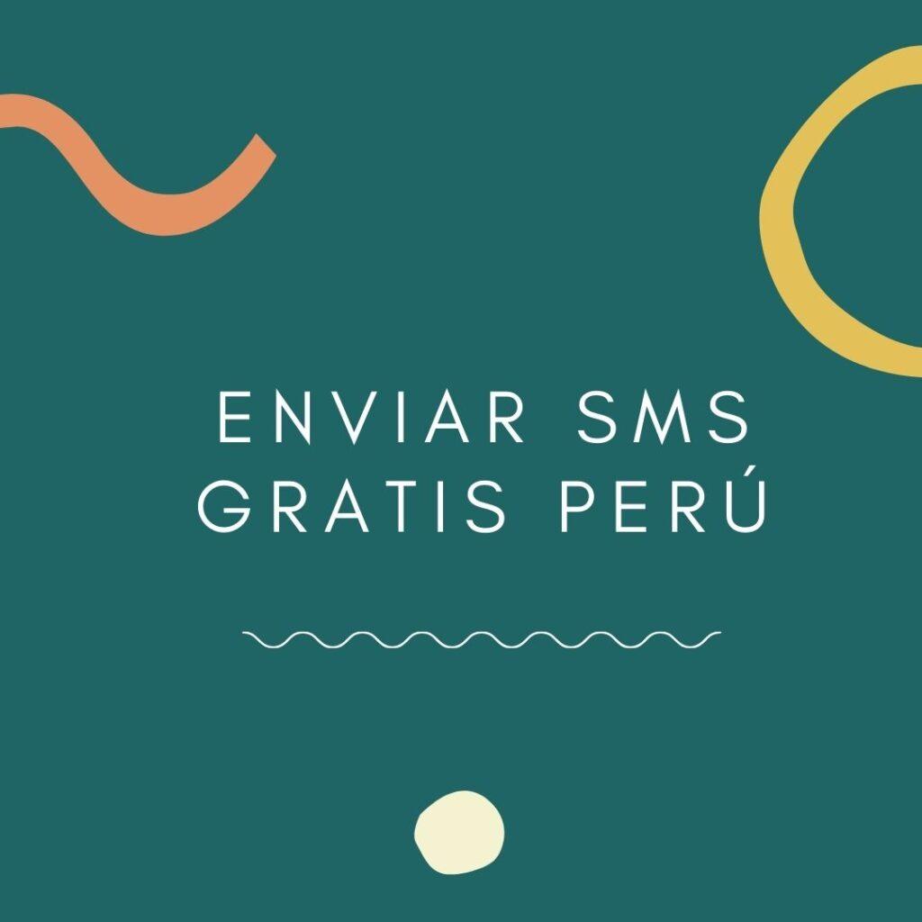 Enviar SMS gratis Perú