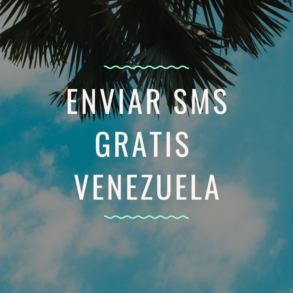 Enviar SMS gratis Venezuela
