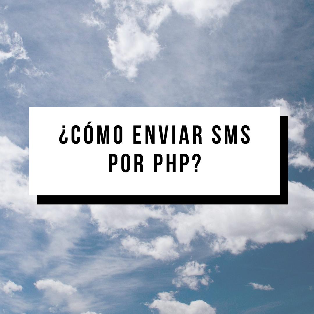 Enviar SMS por PHP