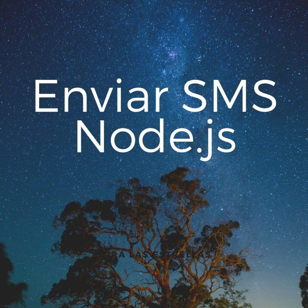 Enviar sms node