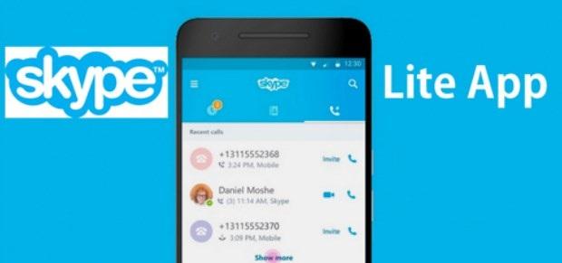 Skype lite sms
